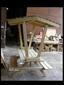 שולחן פקניק מעץ