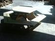 שולחן פיקניק עגול -2400ש''ח