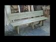ספסל עץ גדול